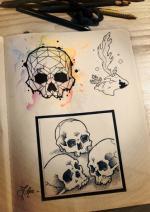 Skulls page